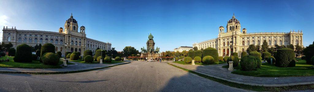 Природо-научен и исторически музей, Виена, фасади