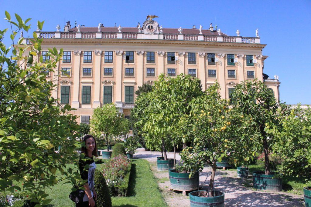Градините на Дворецът Шонбрюн, Виена