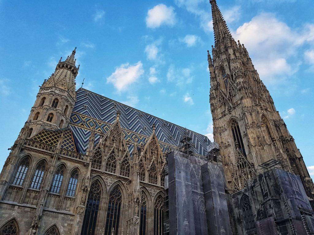 Каедрала Свети Стефан, Виена, през деня