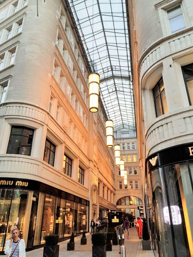 Центърът на Виена, магазини