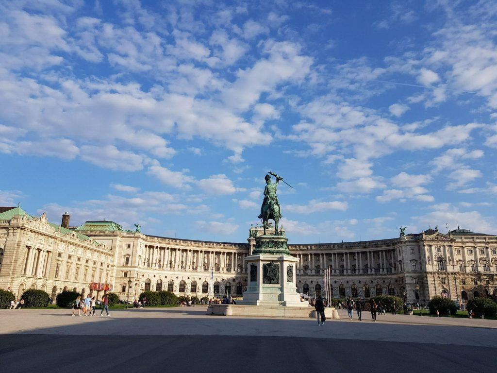 Хофбург, Виена - фасада