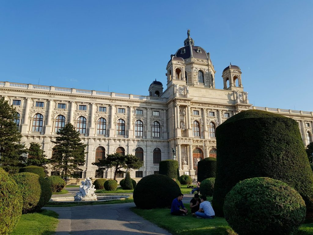 Природо-научен музей, фасада, Виена