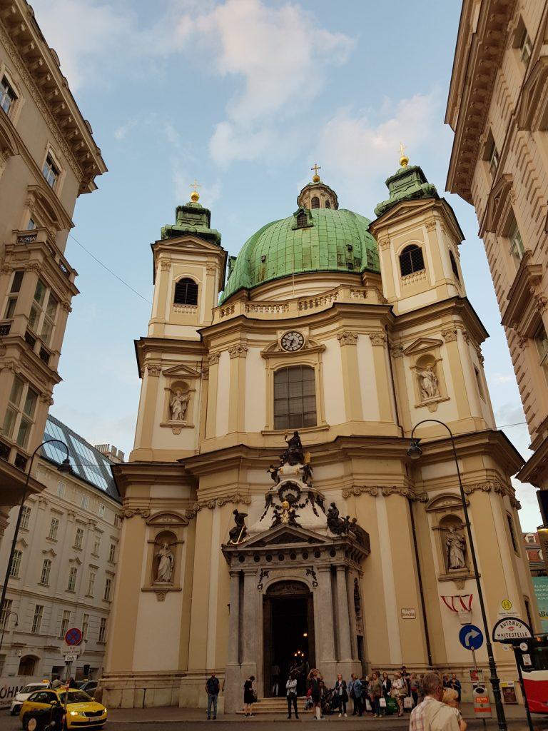 Улиците на Виена, сгради и архитектура