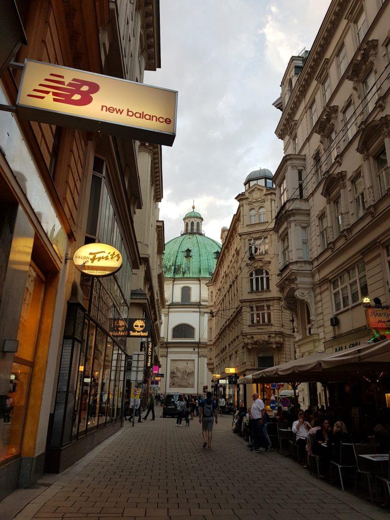 Улиците на Виена, архитектура