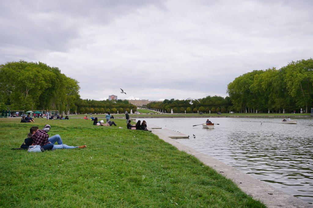 Градиние във Версай - чудесно място за отдих