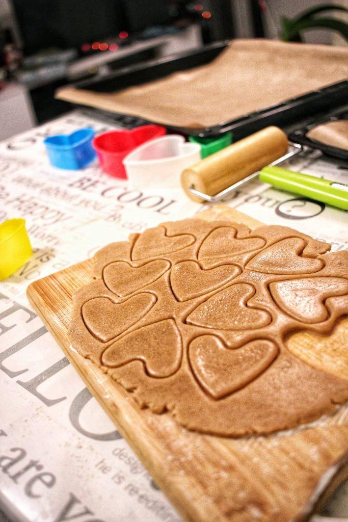 Cut Honey Cookies