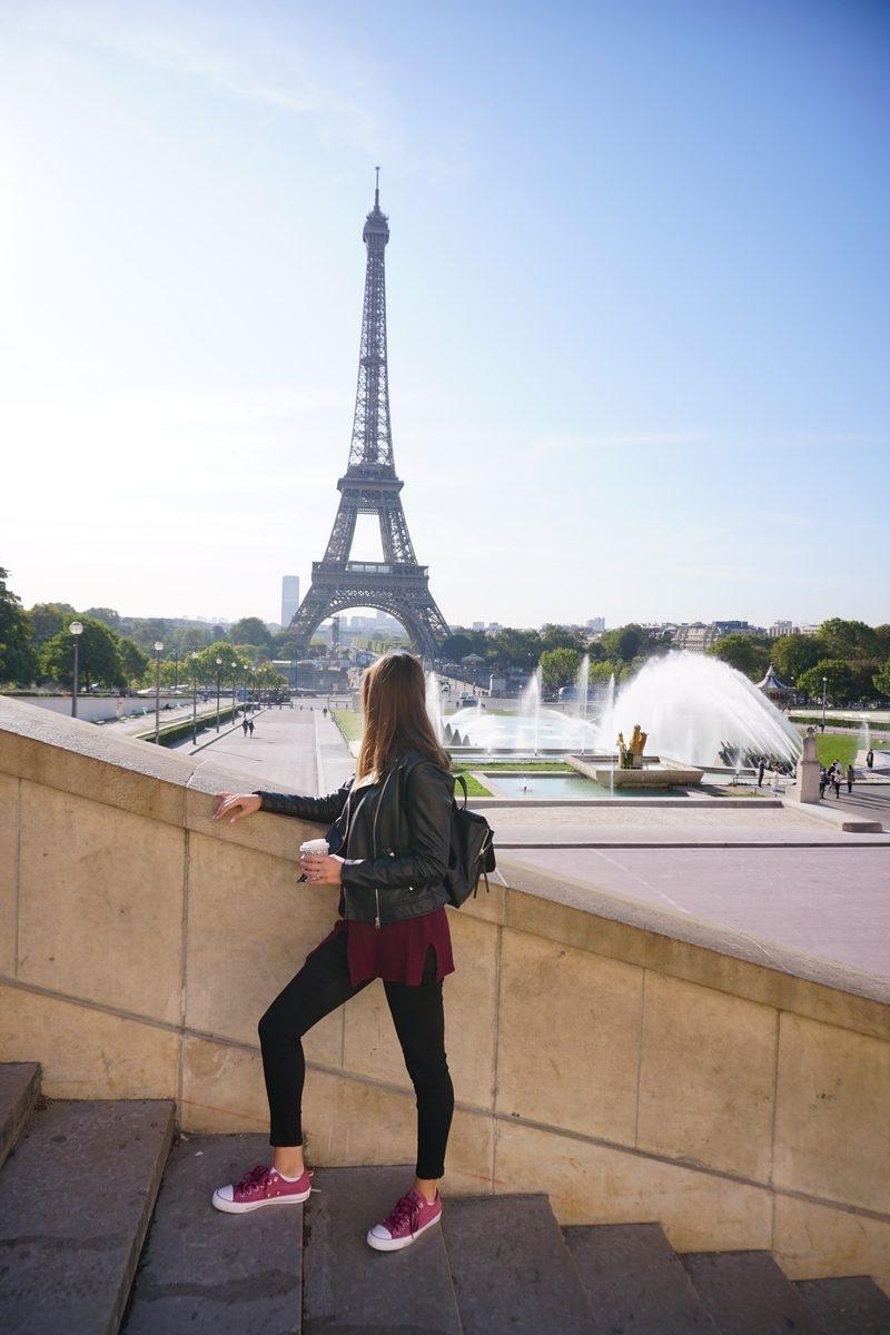 Капучино с гледка Айфеловата кула