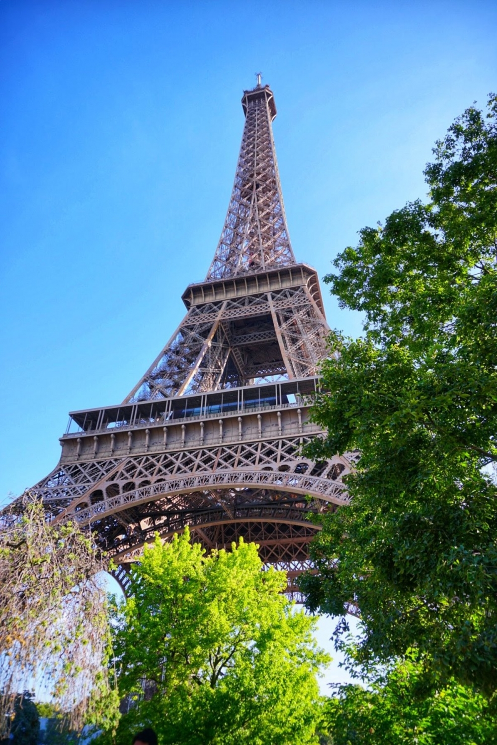 Под Айфеловата кула в Париж