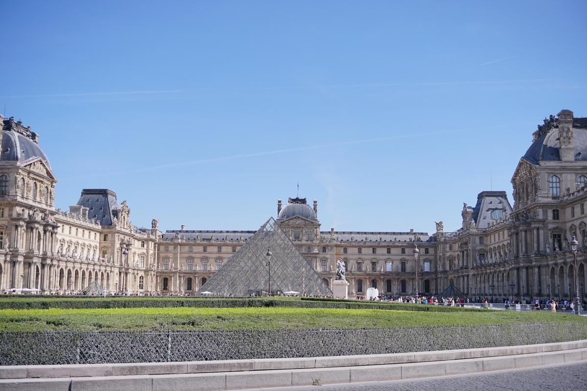 Сградата на Лувъра, Париж