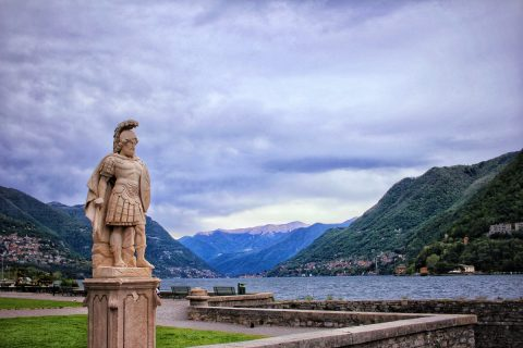 Lake Como view in May