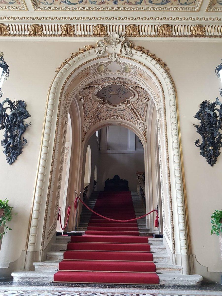 Част от интериора на вила Олмо